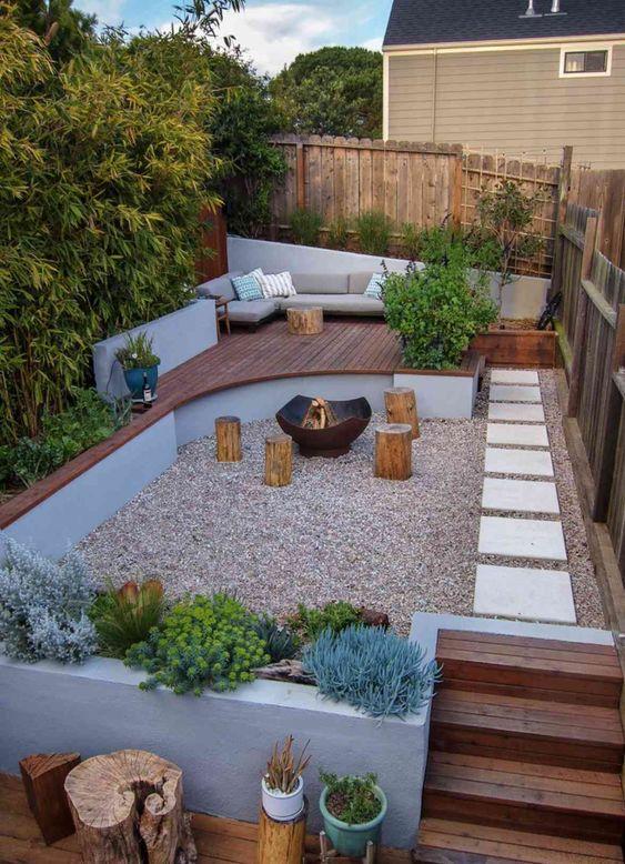 Backyard Inspiration Ideas: Creative Natural Decor