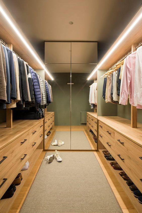 Bedroom Wardrobe Ideas: Warm and Earthy