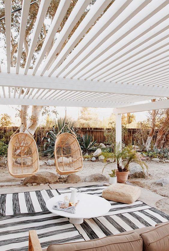 Cozy Backyard Ideas: Breezy Modern Farmhouse