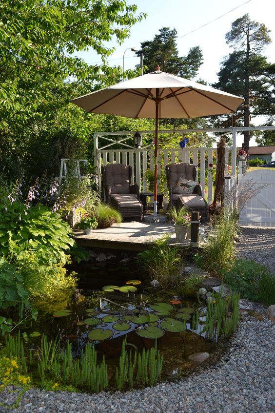 Cozy Backyard Ideas: Fresh Lazy Spot