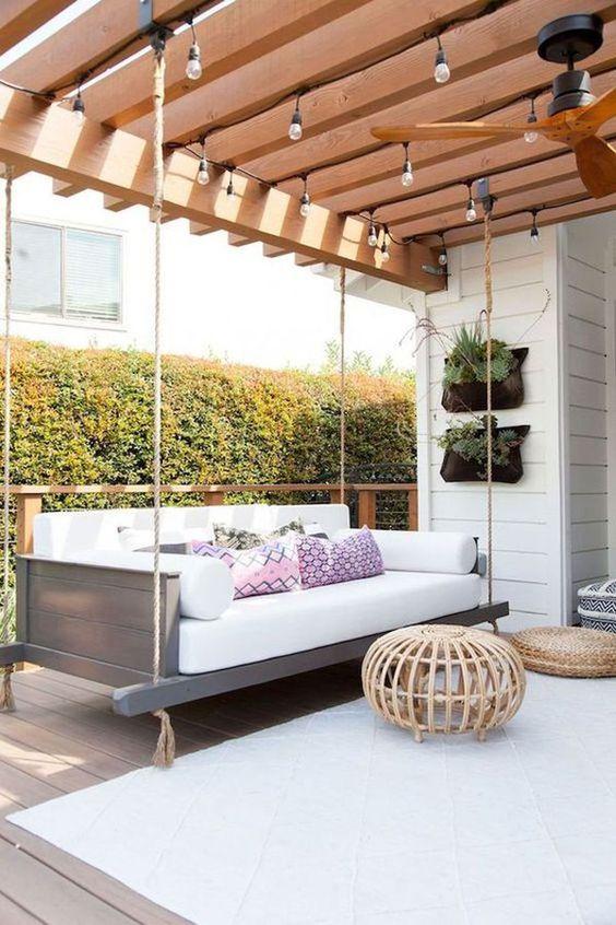 Cozy Backyard Ideas: Minimalist Boho Vibe