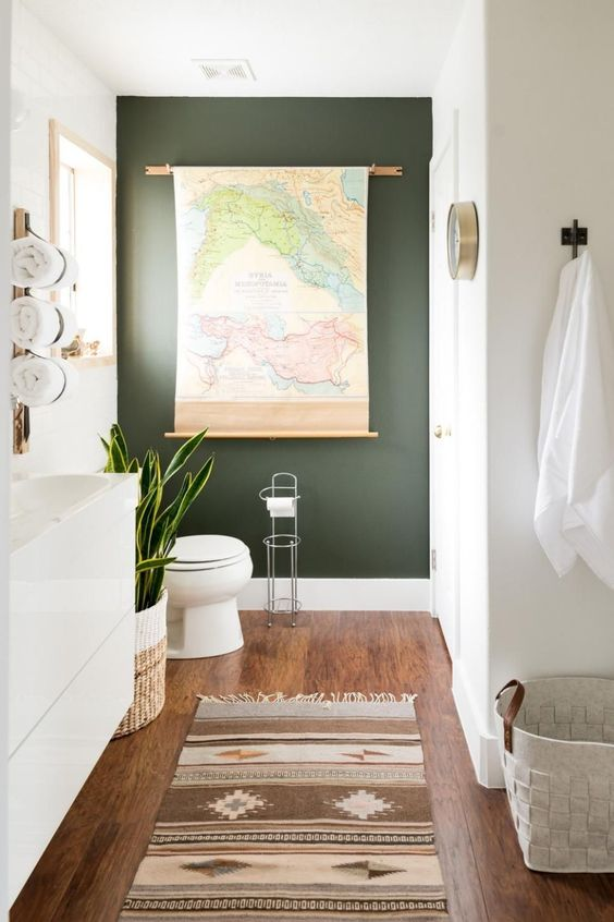 Guest Bathroom Ideas: Airy and Bright