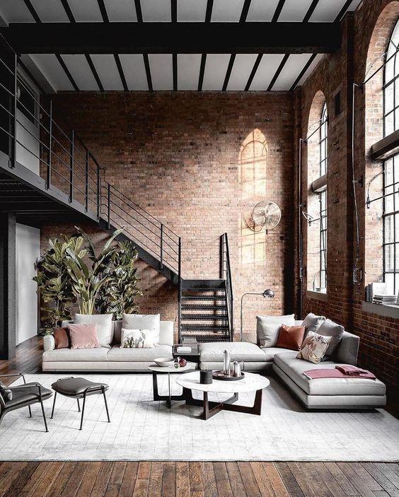 Industrial Living Room Ideas: Stunning Earthy Vibe