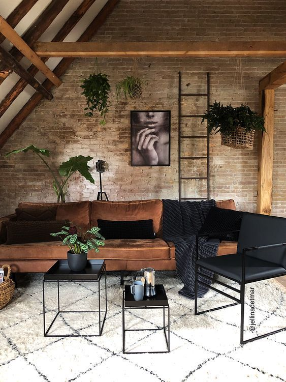 Industrial Living Room Ideas: Minimalist and Modern