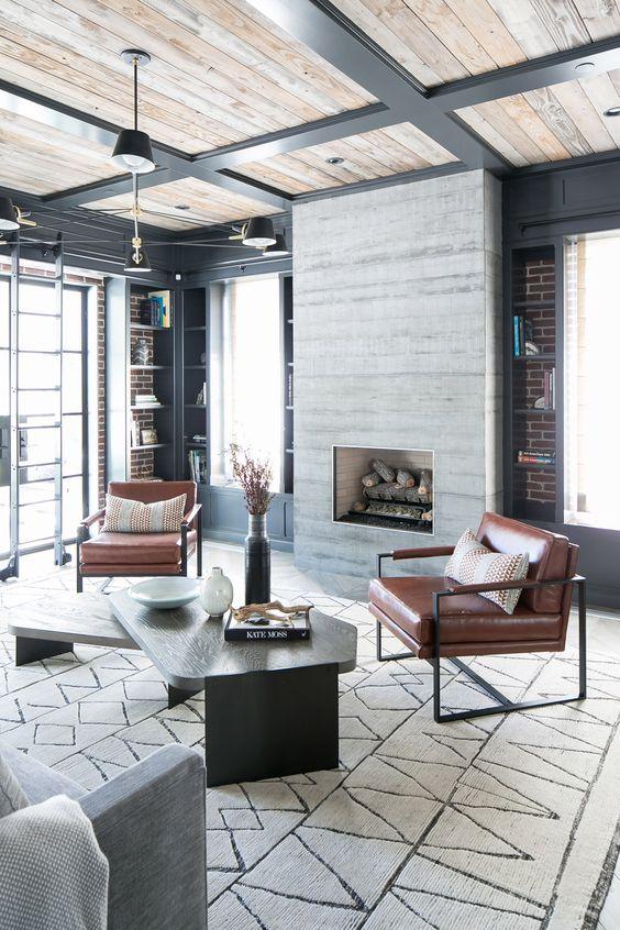 Industrial Living Room Ideas: Stylish Modern Decor