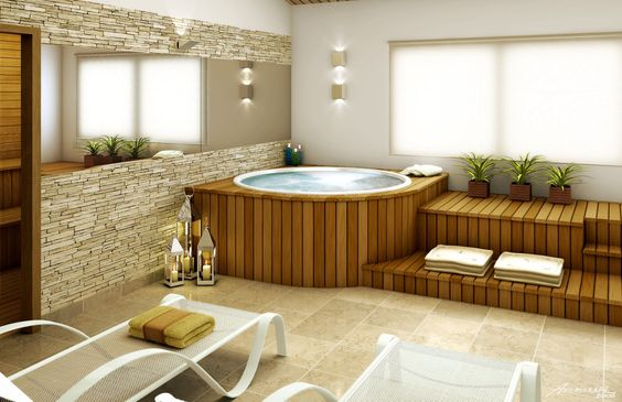 Modern Hot Tub Ideas