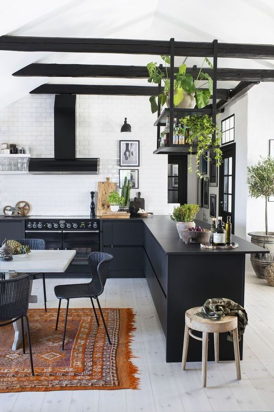 Open Kitchen Ideas: Stunning Modern Kitchen