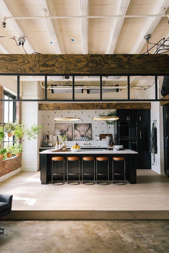 Open Kitchen Ideas: Striking Decorative Kitchen