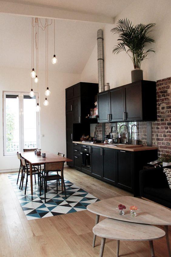 Open Kitchen Ideas: Simple Open Kitchen