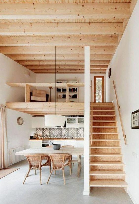 Open Kitchen Ideas: Minimalist Scandinavian Vibe