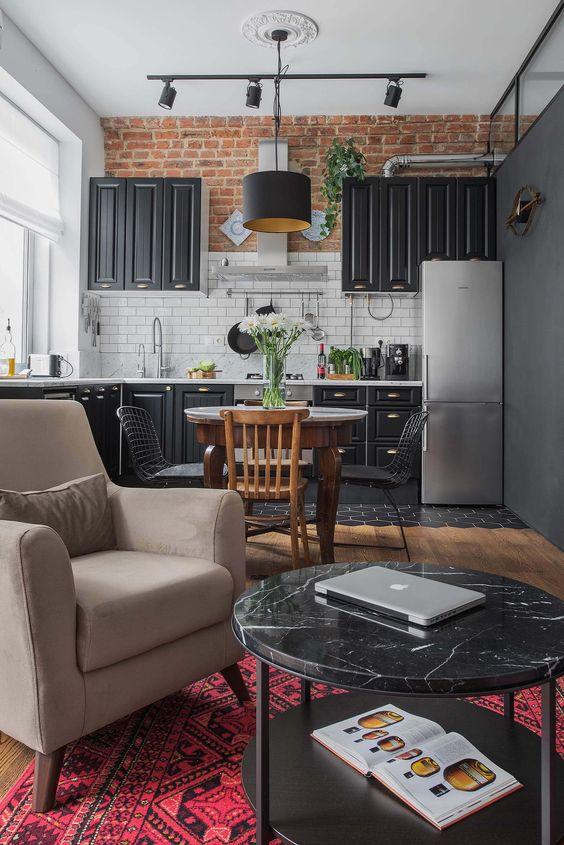 Open Kitchen Ideas: Modern Open Kitchen