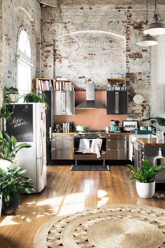 Open Kitchen Ideas: Fresh Rustic Nuance