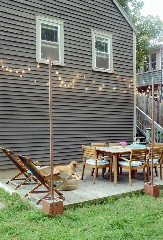 Patio Table Ideas: Minimalist Outdoor Layout