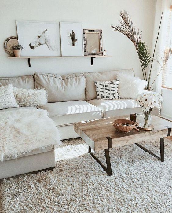 Simple Living Room Ideas: Calming Scandinavian Feel