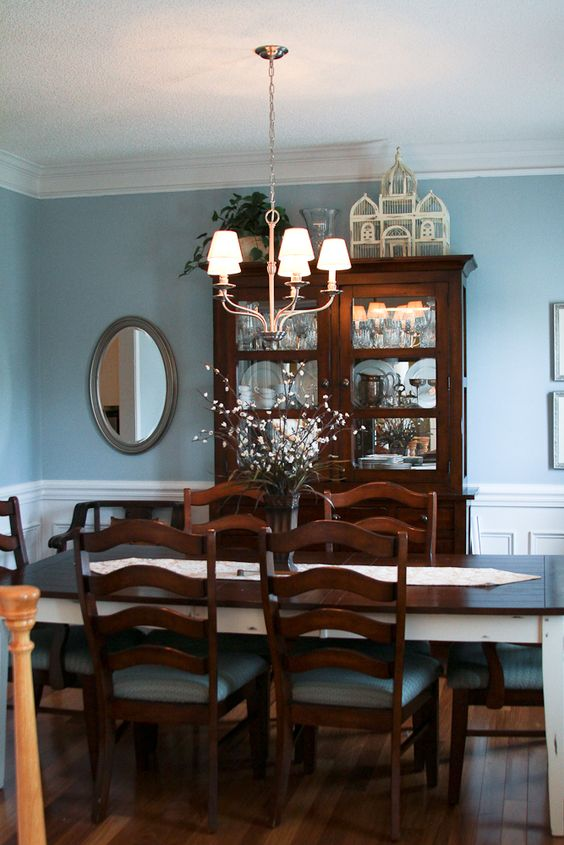 Wood Dining Room Ideas: Classic Formal Decor