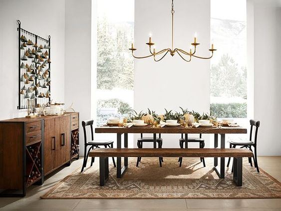 Wood Dining Room Ideas