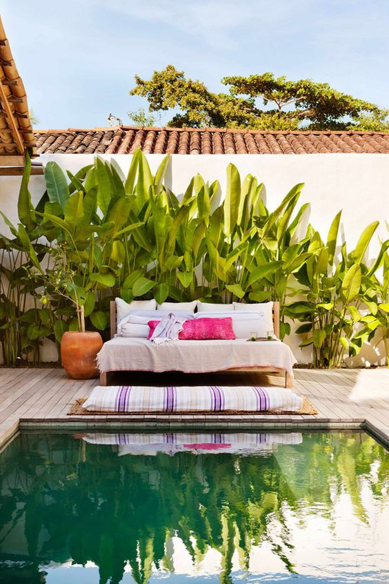 Backyard Oasis Ideas: Unique Tropical Ambiance