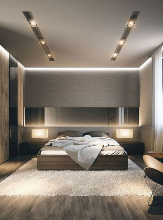 Bedroom Remodel Ideas: Elegant Warm Lighting