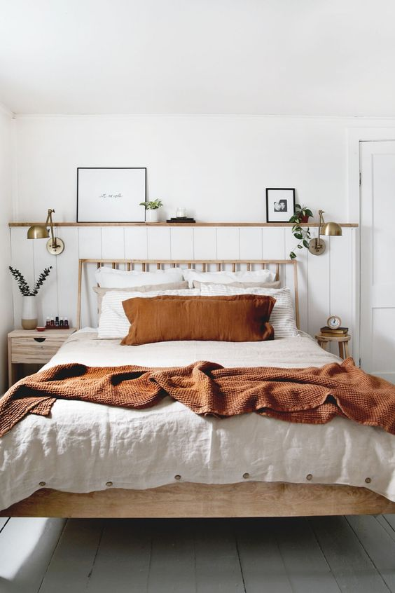 Bedroom Remodel Ideas: Warm Earthy Decor