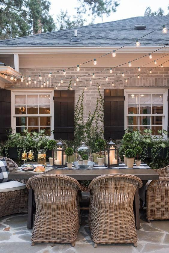 Patio Dining Ideas: Elegant Outdoor Dining