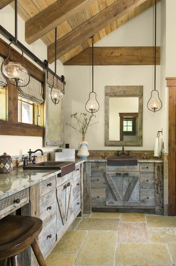Rustic Kitchen Ideas: Classic Rustic Look