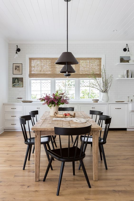 Simple Dining Room Ideas: Striking Open Concept
