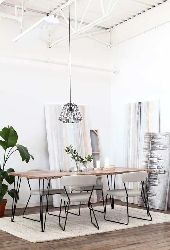 Simple Dining Room Ideas: Elegant Neutral Shades