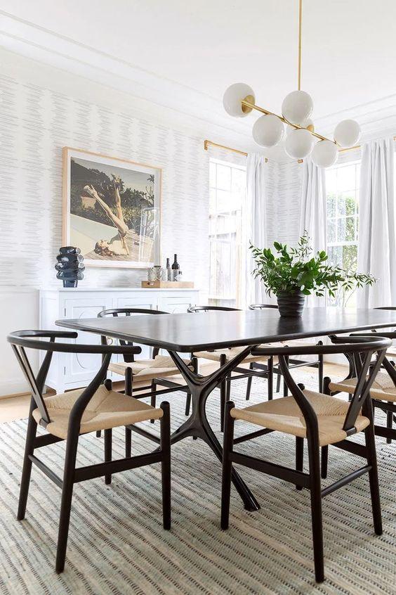 Simple Dining Room Ideas: Breathtaking Mid-Century