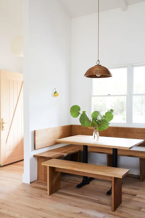 Simple Dining Room Ideas: Casual Earthy Rustic