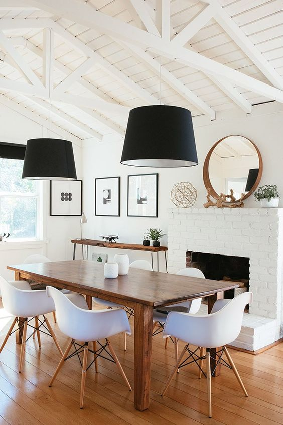 Simple Dining Room Ideas: Charming Modern Rustic