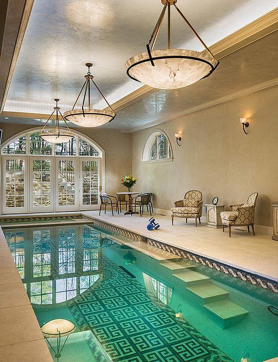 Swimming Pool Lighting Ideas: Stunning Indoor Lighting