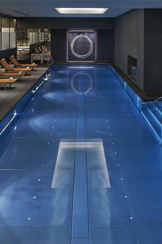 Swimming Pool Lighting Ideas: Modern Indoor Lighting