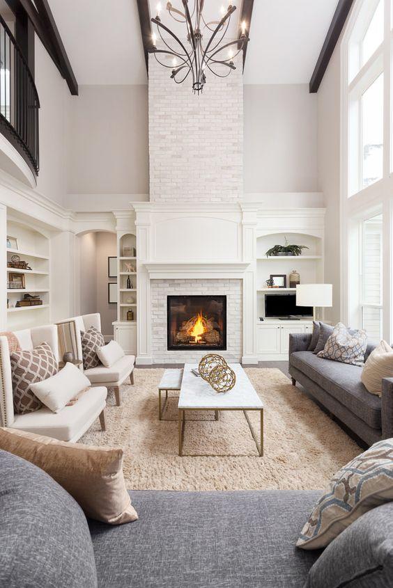 Formal Living Room Ideas: Lovely Earthy Decor
