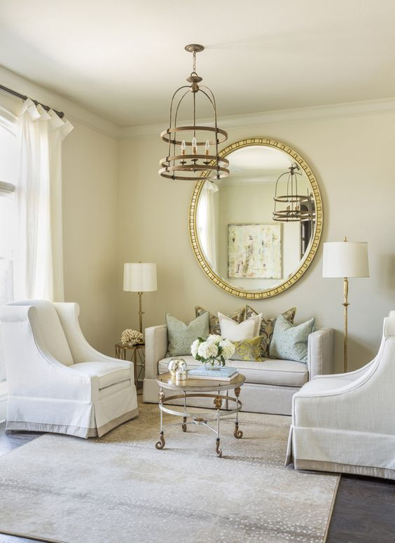 Formal Living Room Ideas: Stunning Pastel Color