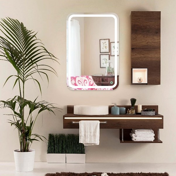 Mind-blowing frameless wall mirror Ideas for your bathroom