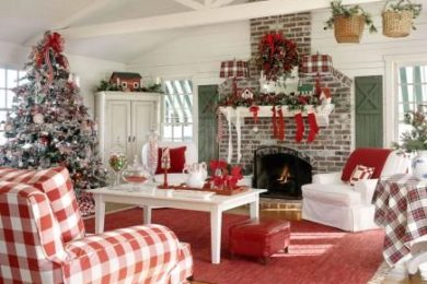 Christmas Living Room Ideas
