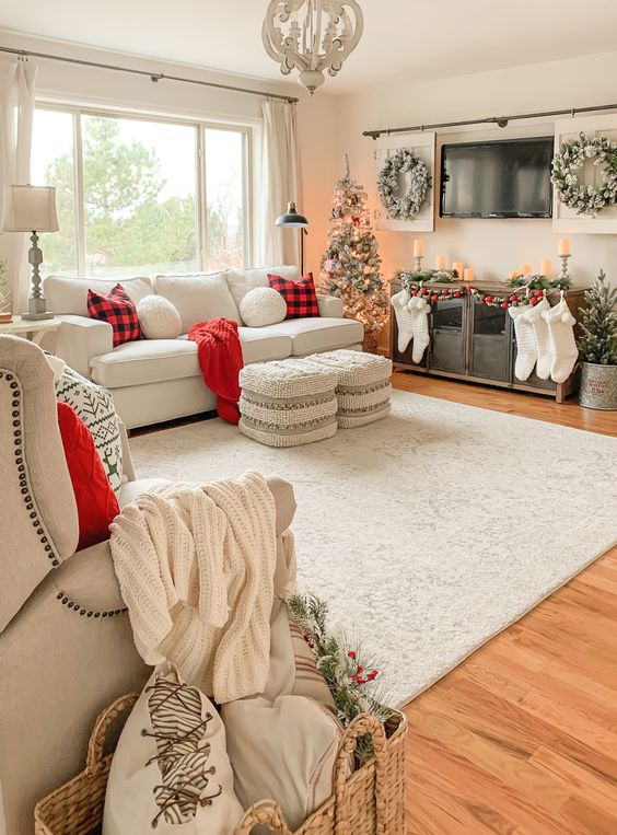 Christmas Living Room Ideas 6