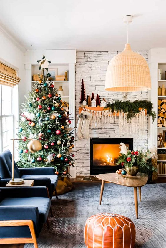 Christmas Living Room Ideas 7